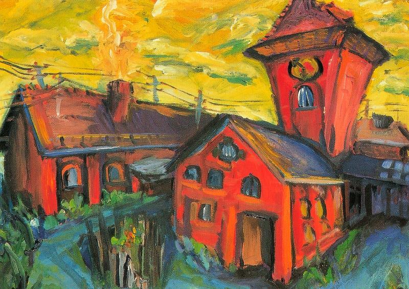 Das rote Haus