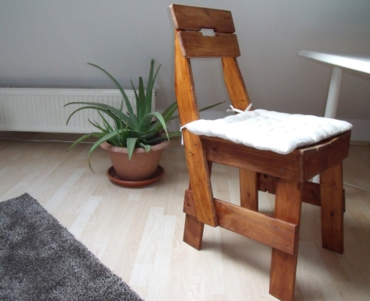 Mein selbstgebauter Stuhl